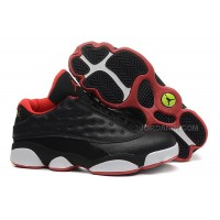 """2015 Air Jordan 13 Low """"Bred"""" Cheap For Sale New Arrival"""