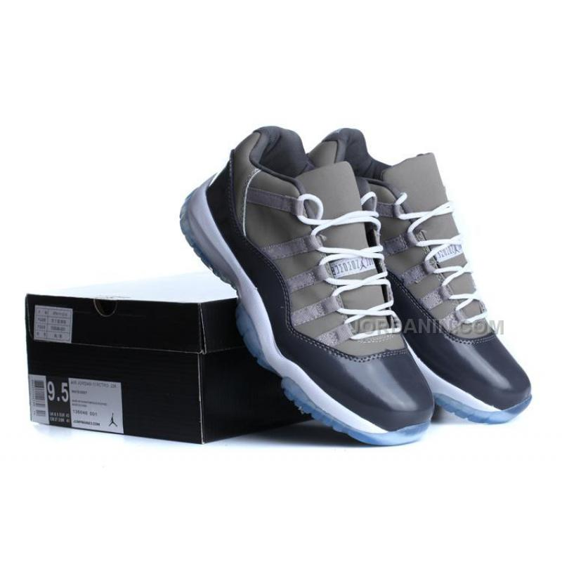 dc8b0f9b36c USD  76.00. Air Jordan 11s Low Top Grey Blue With White For Sale ...