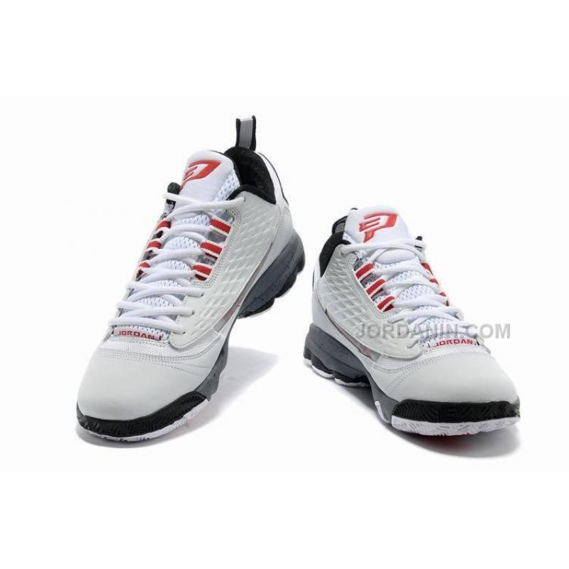 76bd8c84811c ... Jordan CP3.VI AE Chris Paul Shoes White Cement For Sale ...