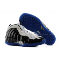 """Nike Air Foamposite One """"Concord"""" Black/White-Game Royal For Sale"""
