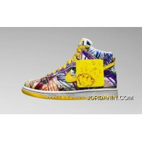 Nike Dunk High Premium QS 728443-100 Crayon Graffiti Best