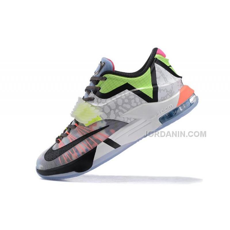 "New Nike KD 7 ""What The"" Multi-Color/Horizon-Black, Price ..."