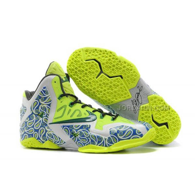 newest 4261e 43963 USD  72.00. Discount Nike LeBron 11 P.S. Elite Fluorescent Green ...