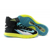 Nike Zoom Hyperrev KYRIE IRVING Black/Venom Green/Metallic Silver/Turbo Green Free Shipping