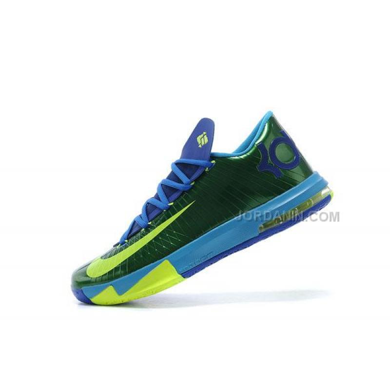 Discount Nike Zoom KD 6 Peacock Green Price 7700 2017 New Jordan Shoes Air Shoes
