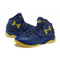 New 2015 NBA Shoes Online Stephen Curry Basketball Sneakers Classic Blue 2s