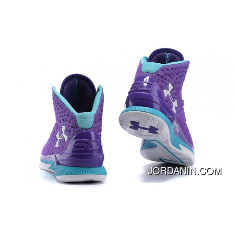 230585d11c95 ... Under Armour Curry One Kids Purple Month Sneaker New Style ...