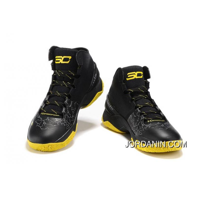 ... Cheap Under Armour Curry 2 Black Knight – Black Yellow Online ... db0fab355
