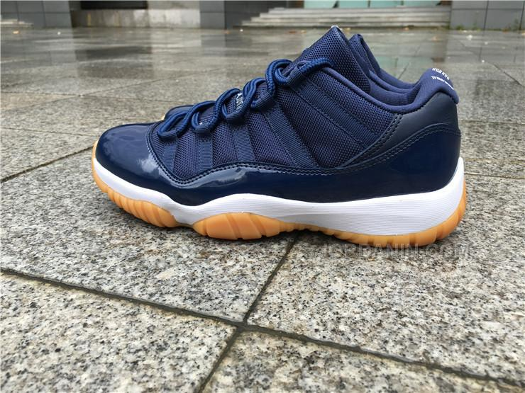 842698c86ebce6 Air Jordan 11 Low Navy Gum 41---47.5