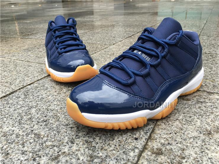 1cda608aafe Men Basketball Shoe Air Jordan 11 Low Navy Gum AAAA 328