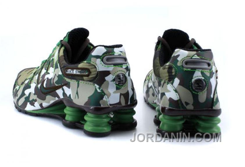 new concept c02f2 f9319 Men s Nike Shox NZ Shoes Camouflage Discount