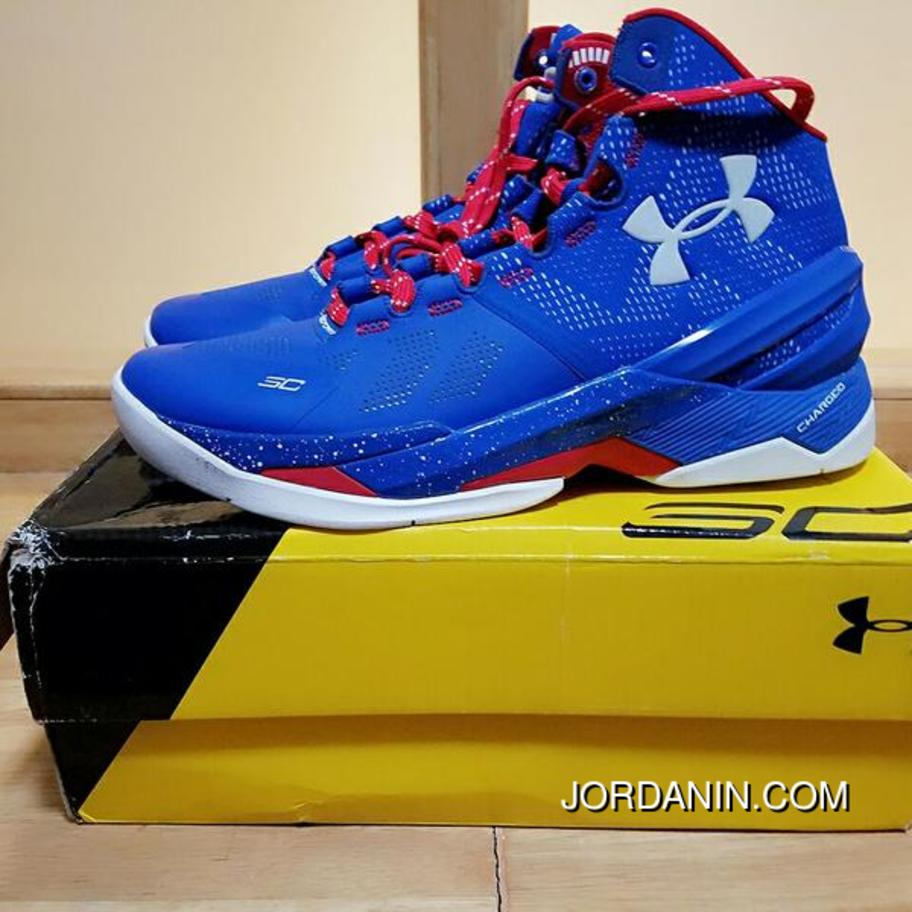f40e198958e2 Providence Road  Under Armour Curry 2 Blue – White Red Super Deals ...