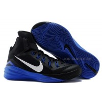 Nike Lunar Hyperdunk 2014 Black/Royal Blue-White For Sale New