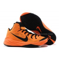 Nike Hyperdunk 2014 Bright Mango/Black For Sale New