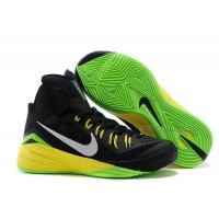 Nike Hyperdunk 2014 Black/Metallic Silver/Electric Green For Sale New