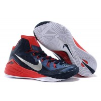 "Nike Hyperdunk 2014 ""USA Away"" Obsidian/White-University Red For Sale New"