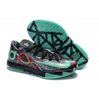 "Girls Nike KD 6 ""Illusion All Star"" Multi-Color/Green Glow-Black For Sale Free Shipping"