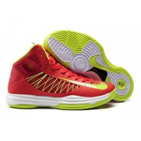 Nike Lunar Hyperdunk X 2012 James Shoes Red/Yellow/White Discount