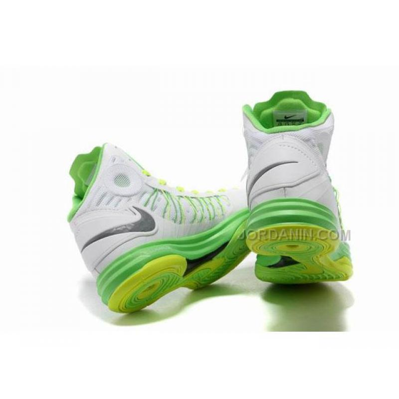 reputable site f527a 692f8 ... Nike Lunar Hyperdunk X 2012 James Shoes White Green Yellow Discount