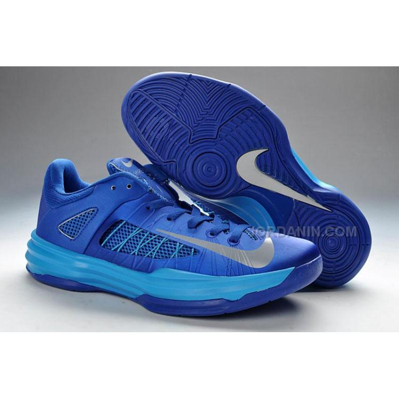 newest collection 053a9 ce138 USD  79.00. Nike Lunar Hyperdunk X Low 2012 Blue Silver Online ...