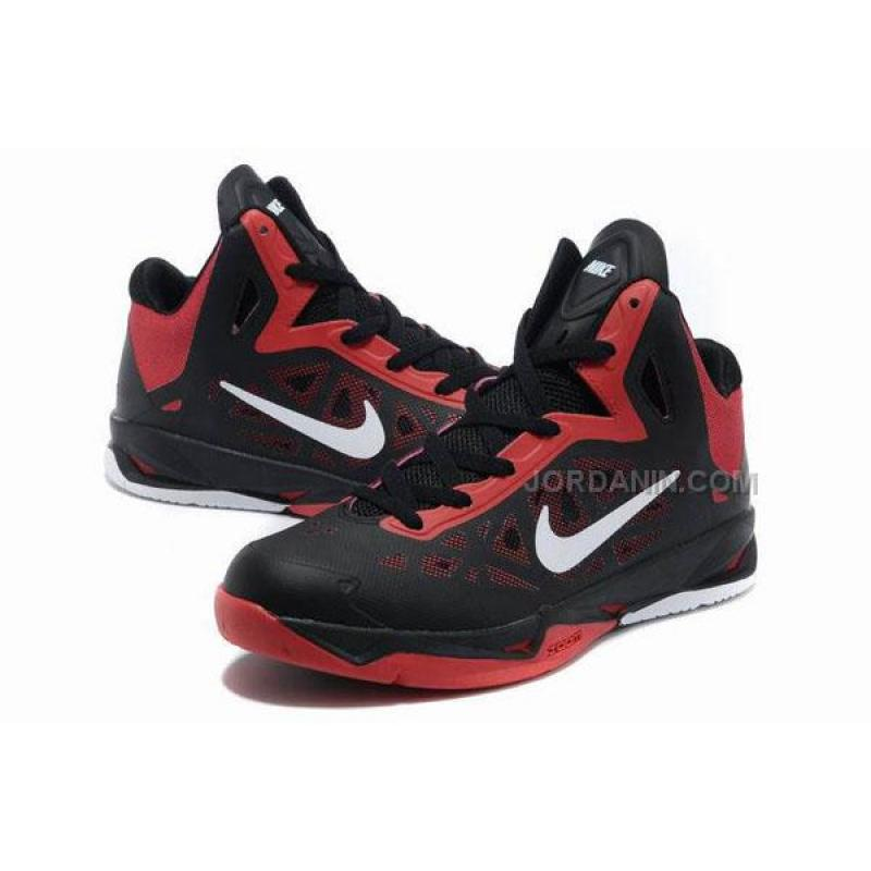 2013 NBA All Stars Basketball Shoes Black/Red/White Online