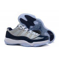 "2015 Air Jordan 11 Retro Low ""Georgetown"" Grey Mist For Sale"