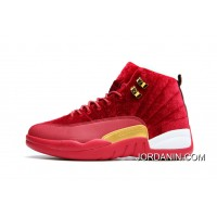 JORDAN 12A J12 36---40 Red 2017 Women Free Shipping