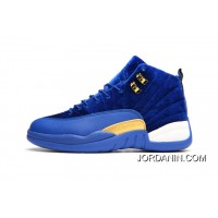 JORDAN 12A J12 36---40 Blue Yellow 2017 Women Super Deals