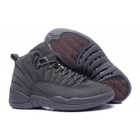 "2015 Air Jordan 12 ""PSNY"" Dark Grey-Black Cheap For Sale"