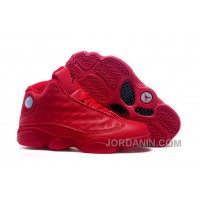 2016 Air Jordans 13 All Red Shoes For Sale