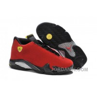 "2016 Air Jordan 14 ""Ferrari"" Chilling Red/Black Vibrant Yellow"