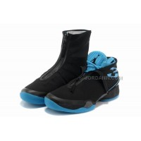 Air Jordan 28 Shoes Black/Blue Online