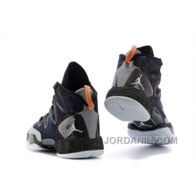 "cheap for discount bdd9e d5b23 ... Air Jordans XX8 SE ""Christmas"" Black White-Reflect Silver-Total Orange"