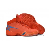 Air Jordan 30 XXX Playoffs Orange Blue PE 2016