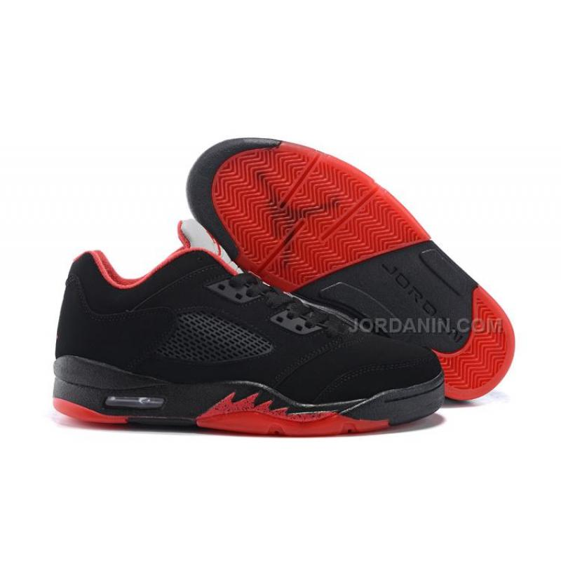 "finest selection 5aab7 0fa73 Air Jordan 5 Low ""Alternate '90"" Black/Gym Red-Metallic Hematite 2016"