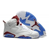 "Air Jordan 6 ""Maroon"" Off-White/New Maroon Cheap To Buy"