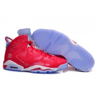 "Air Jordans 6 Retro ""Slam Dunk"" Varsity Red/Varsity Red-White For Sale"