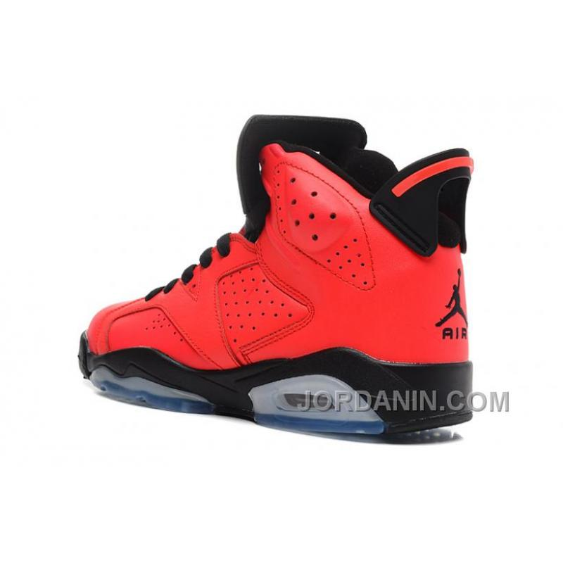 differently 9ae6d 94884 ... Air Jordans 6 Retro Infrared 23 Black-Infrared 23 For Sale ...