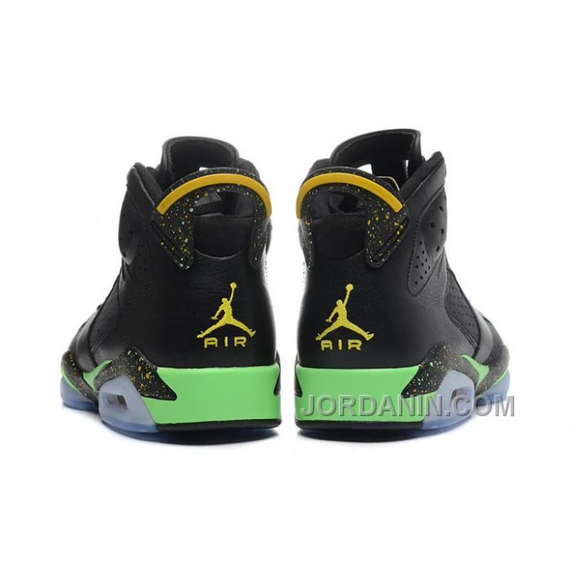 "6165235261cce5 Air Jordans 6 Retro "" World Cup"" Black Light Lucid Green-Tour Yellow ..."