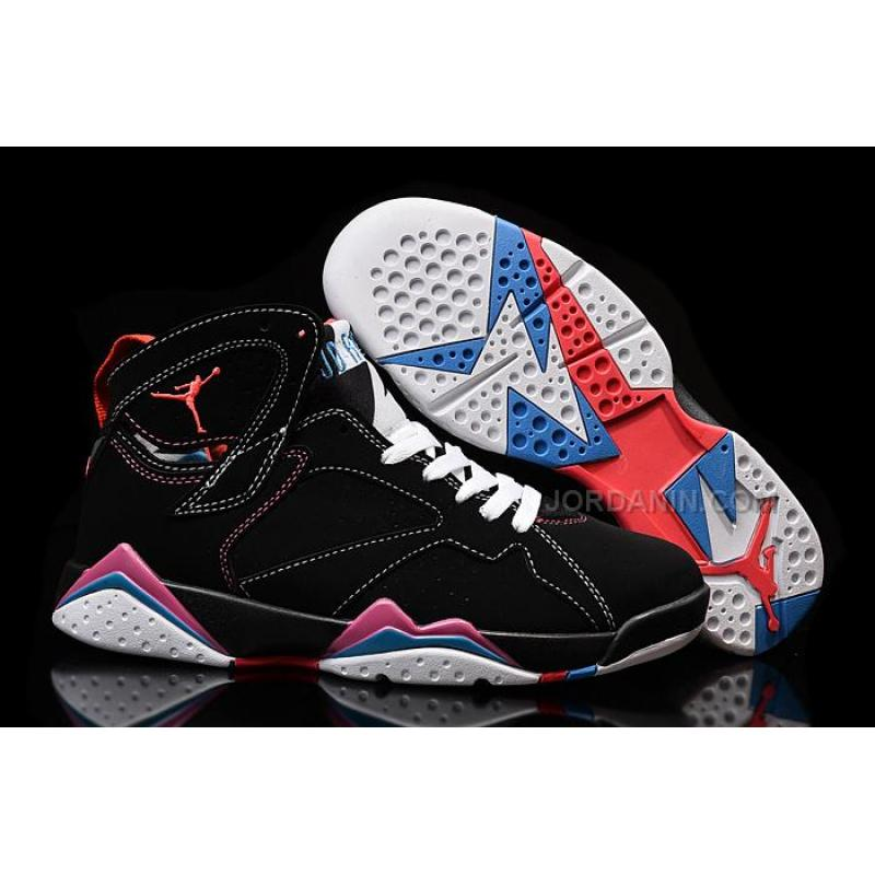 classic fit eb4f4 370f9 USD  90.00. Cheap Air Jordan 7 Retro Black White Pink For Sale ...