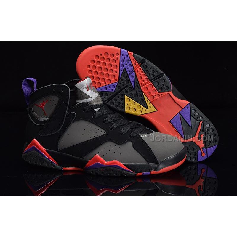"save off 4496d b68d3 Cheap Air Jordan 7 Retro ""Raptors"" DMP Black/Dark Charcoal-True Red"