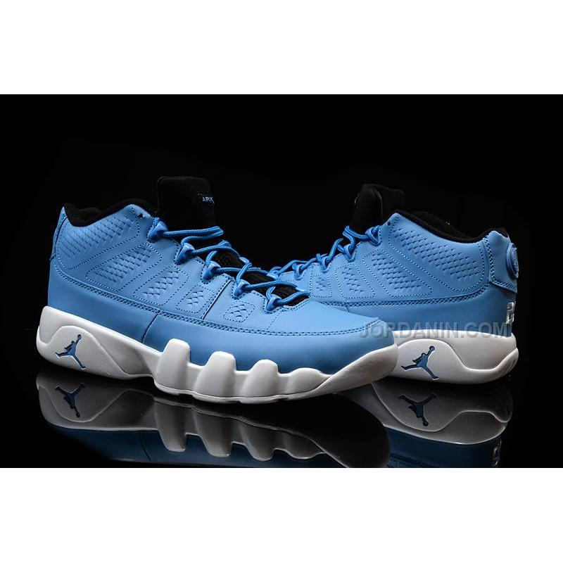 56293818dce7 ... pantone on feet f8578 23d78  promo code for air jordan 9 low light blue  white free shipping b7e59 97668