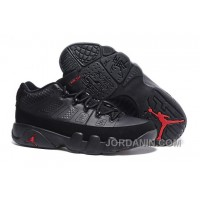 Air Jordan 9 Retro Low Black/Varsity Red Cheap For Sale