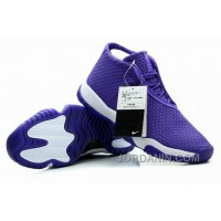 Air Jordan Future Glow Purple White For Sale