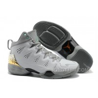 Jordan Melo M10 White Gray Custom For Sale