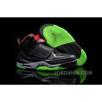 "Jordan Son Of Mars ""Yeezy"" Black/Gym Red-Cool Grey-Pulse Green"