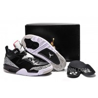 "Jordan Son Of Mars Low ""Black Cement"" Black/Black-University Red-Grey Mist"