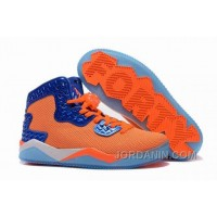 "Jordan Air Spike 40 Forty PE ""Total Orange"" Total Orange/Game Royal-White For Sale"