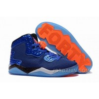 "Jordan Air Spike 40 Forty PE ""Game Royal"" Game Royal/Total Orange-White-Black For Sale"