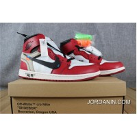 Updated 3rd Air Jordan 1 OFF-WHITE (better Details) Authentic